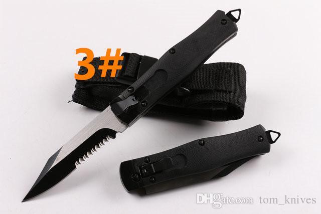 Alta recomendar mi 3 modelos opcionais presente Hunting Folding Pocket Knife faca da sobrevivência do Xmas para homens cópias