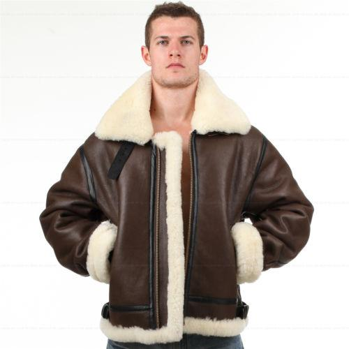 matching in colour online shop exclusive deals 2019 B3 Shearling Leather Jacket Bomber Fur Pilot World II Flying Aviation  Air Force From Wwwh731241, &Price; | DHgate.Com