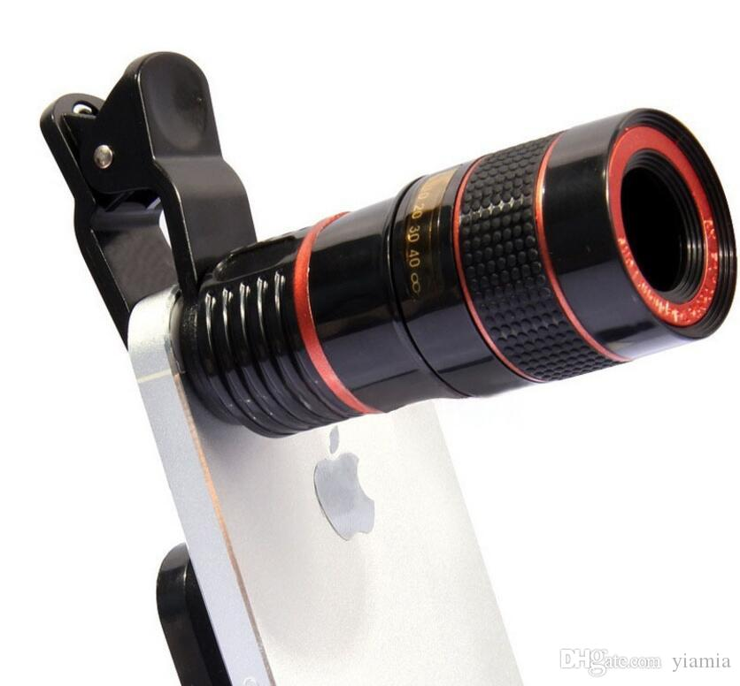 Optik Lens 8X Zoom Teleskop Kamera Cep Telefonu 4 s kamera zoom Için Toptan Mağaza