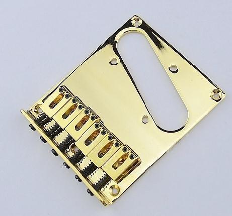 Parti dorate di alta qualità Chitarra elettrica Ponte 85.5mm Accessori per strumenti musicali
