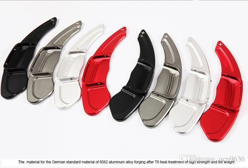 Новый высокое качество алюминия рулевое колесо сдвиг весло Shifter расширение для Hyundai Rohens Coupe 2014
