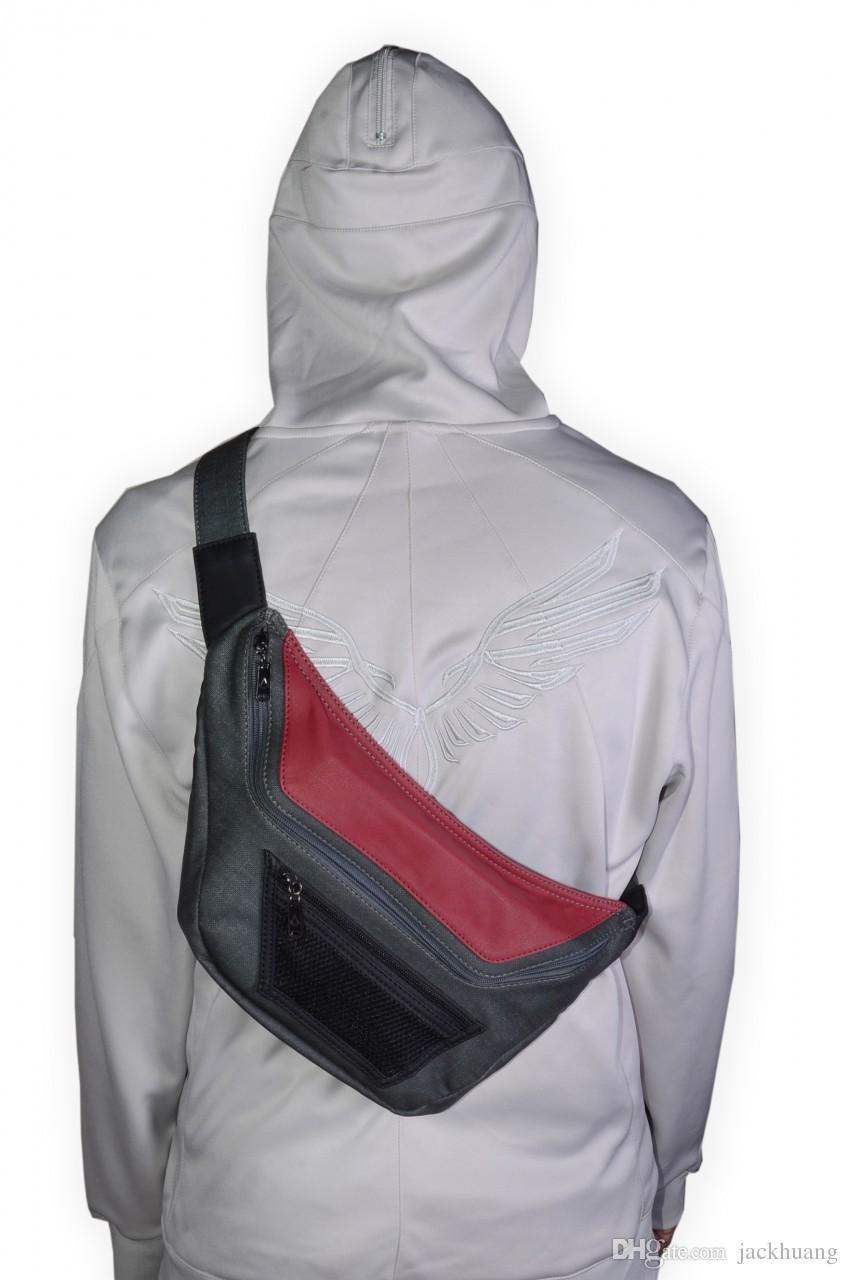 Juego Assassins Creed III Cosplay Bag Desmond Messenger Bags Bolsos cruzados