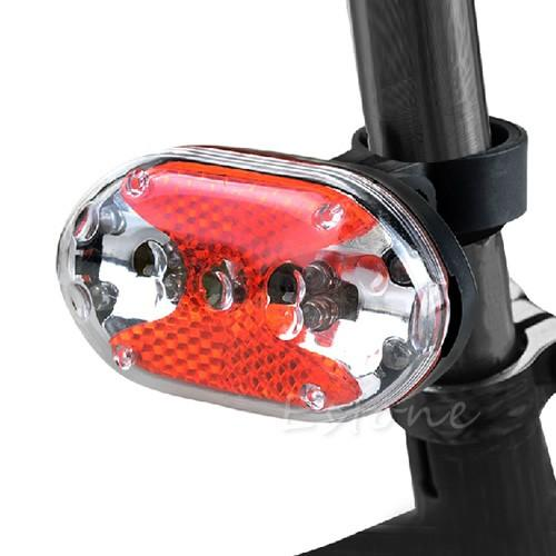 Vélo vélo rouge 9-LED clignotant arrière à la lumière de la lampe