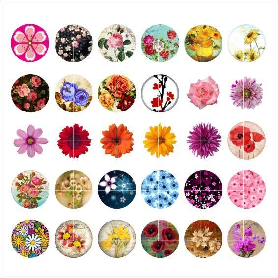 Frete grátis GLowers botão snap jóias charme popper para pulseira 30 pçs / lote GL020 fazer jóias