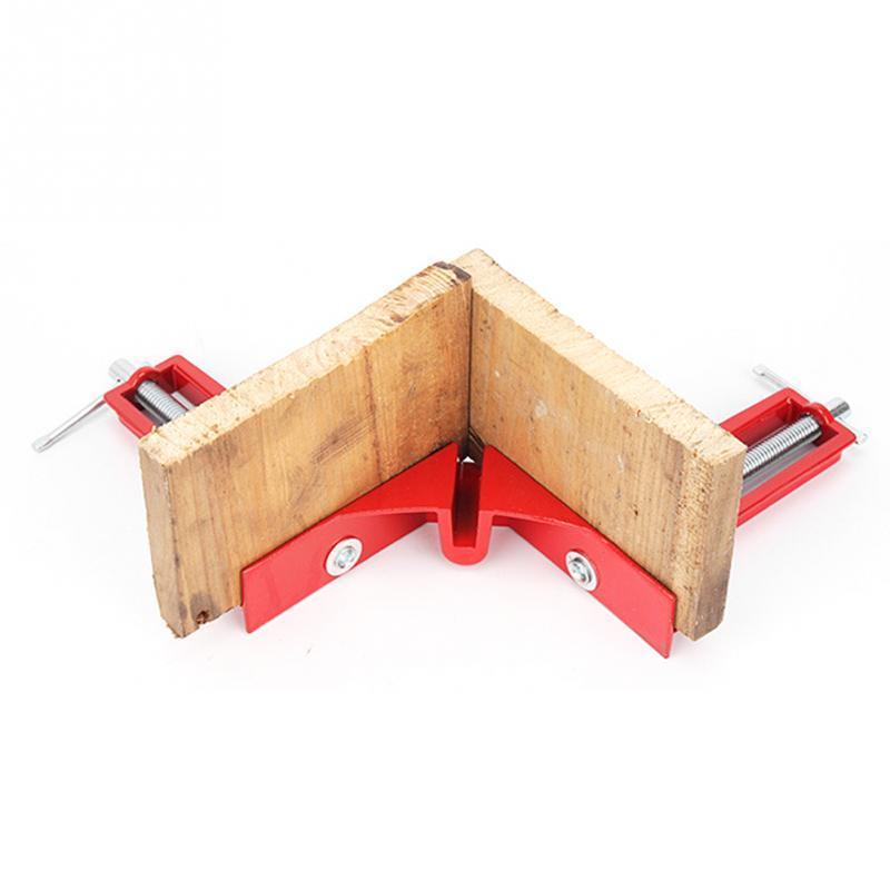 Abrazadera de esquina de ángulo recto de 90 grados Mitre Vise Vice Soporte de marco de imagen Kit de sujeción para trabajo ligero de carpintería