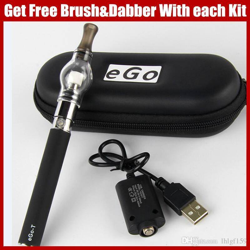 Dab pens EGO vaporizer dry herb ecigarette Glass Globe herbal vaporizers EGO-T Wax Vape Pen 650mAh 900mAh 1100mAh ego ecig batteries vaper