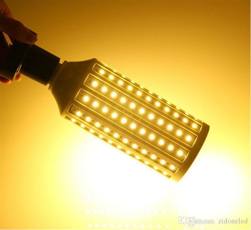 SMD5050 LED de maïs E27 9W 12W 16W 20W 25W 30W LED spotlight ampoule lampe AC85-265V 360 degrés d'économie d'énergie des ampoules LED Lumière