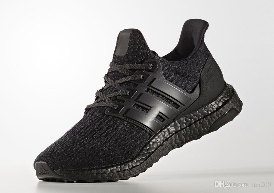 Ultra Boost 3.0 Triple Black Running