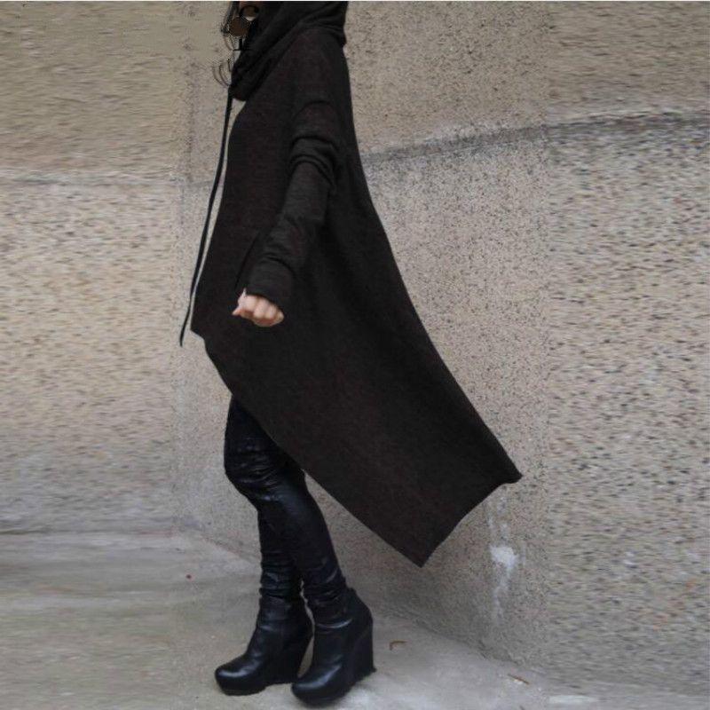 Oversize Hoodie Sweatshirt Frauen Casual Outwear Hoody Lose Langarm Mantel Hooded Cover Pullover Kleidung Neu