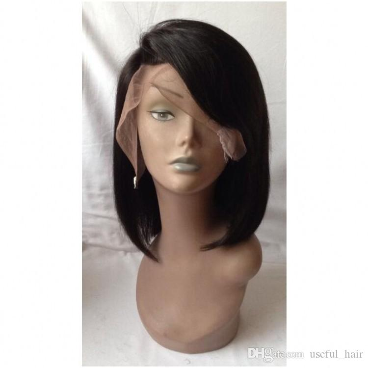 lace front short wigs bobo wig Lace Front Human Hair Wigs For Black Women short wigs Pre Plucked Natural Hairline With Baby Hair