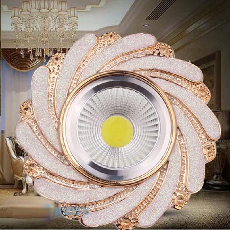 Romatic luminaria 100 pcs 3 w Resina ponto de luz de teto levou recesso lustres de teto Cabinet luminárias varanda luzes HQ-SZ011