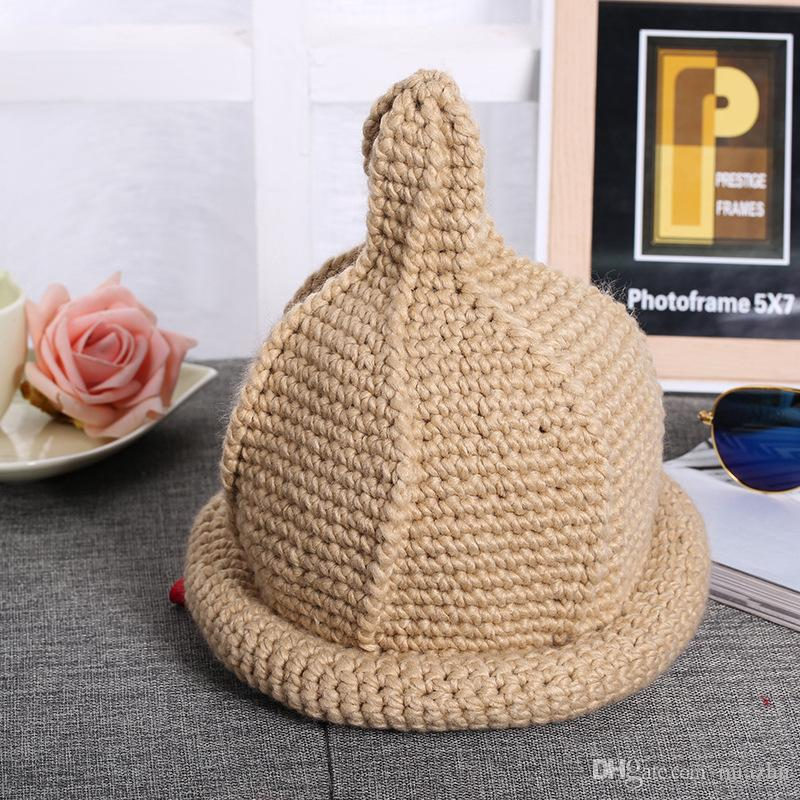 2016 Solido adulti cotone casuale acrilico Rushed nuovo modo inverno femminile cappelli a mano grossa Cappellino per le donne Berretti