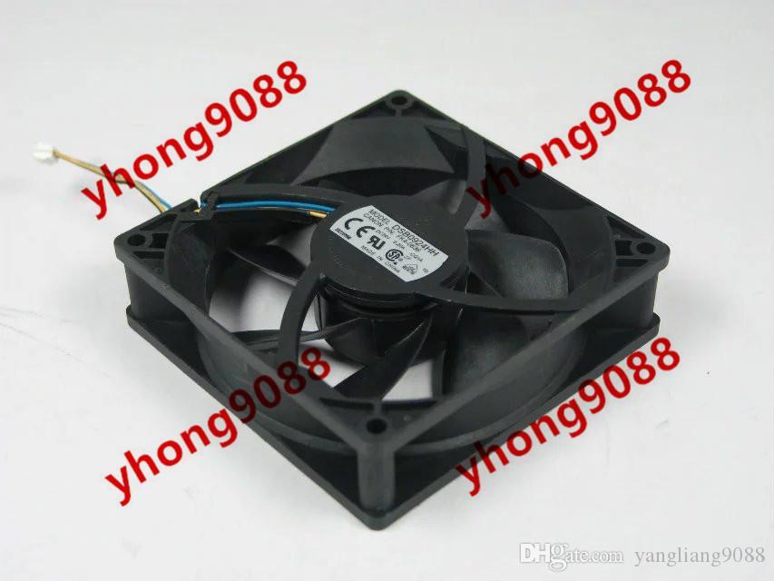 Cooler Master FA07015L12LPB DC 12 V 0.25A 4 fils 4 broches connecteur 90mm 70x70x15mm Serveur carré de refroidissement ventilateur