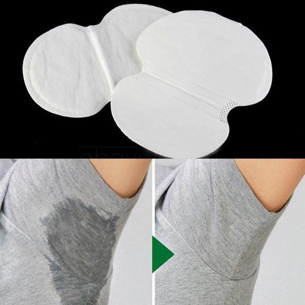 30 UNIDS Desechables Bajo El Brazo Guardia Almohadillas Armpit Sheet Dress Ropa Escudo, Absorbente desodorante Antitranspirante Cuidado de la Salud NW