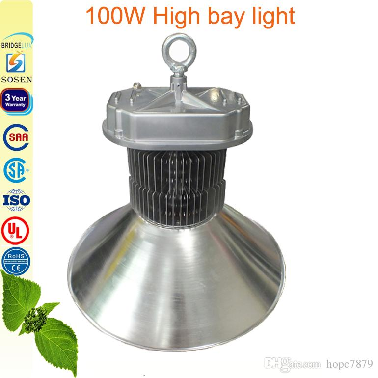 100W 150W 200W High Bay Light LED Floodlights Stadium Tentoonstelling LED Verlichting Warehouse Workshop Lamp Fin Radiator 3Years Garantie