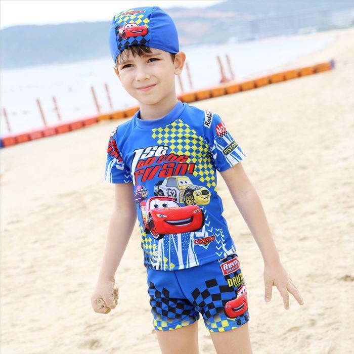 2021 Boys Swimwear Cartoon Lighting McQueen Swimwear Kids Swimsuit Short  Sleeve Tops+Pants+Hats Kids Swimming Clothing Boy Swimsuits From  Flyangel0308, $8.85 | DHgate.Com