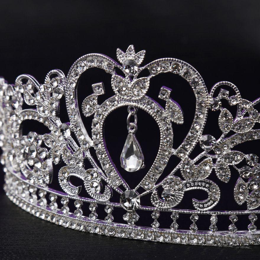 Luxury crown Crystal Bridal Tiara Diamond Jewelry Wedding Crowns Hairband Cheap Wedding Hair Accessories Of Tiaras For Ladies