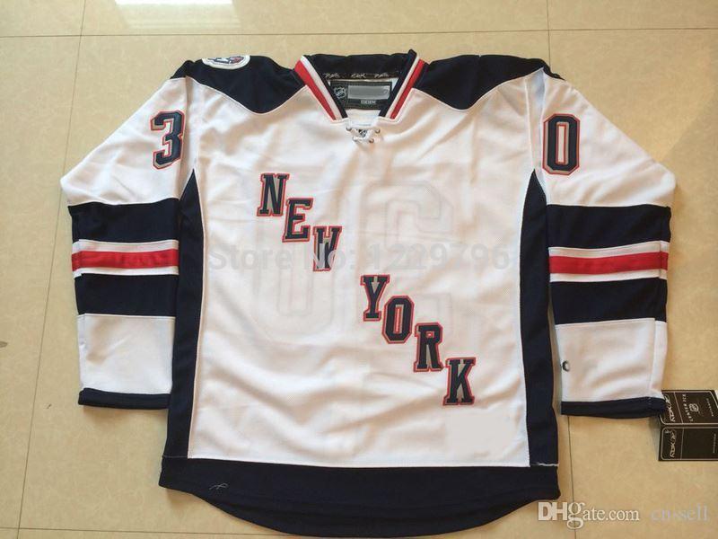 fa68c5913 ... 2017 2014 Stadium Series New York Rangers Hockey Jerseys 30 Henrik  Lundqvist Jersey White Cheap Stitched ...