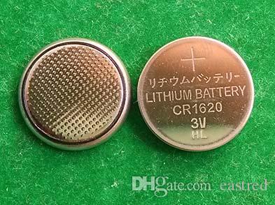 Konkurrenzfähiger Preis 3v CR1620 Lithium-Knopfzelle Batterie-Knopfzellen 2000pcs pro Los