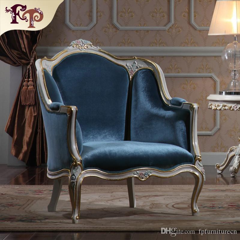 Antique living room furniture- European Classic sofa set with gold leaf gilding -Italian luxury classic furniture