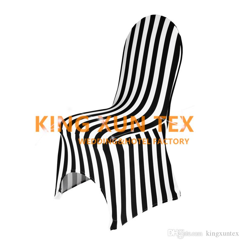 Striped Lycra Spandex Chair Cover For Wedding Event Decoration Send By Fsat Door To Door Shipping