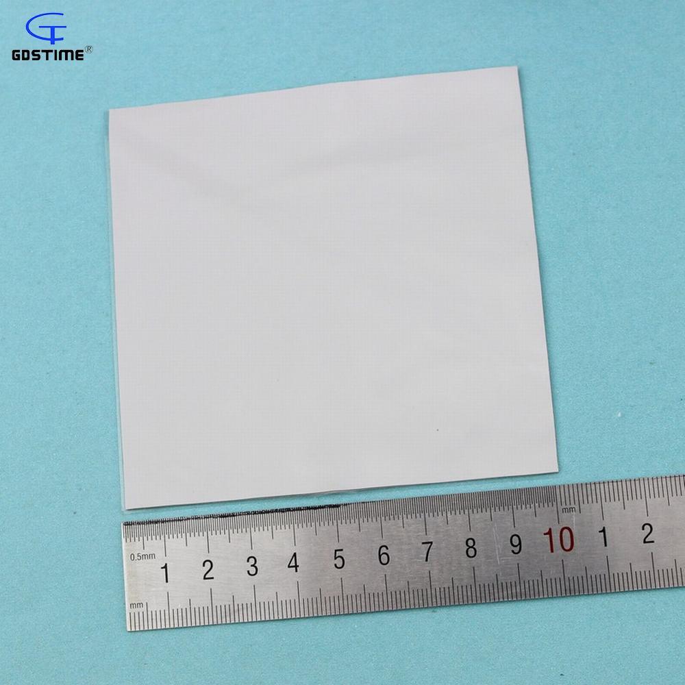 Grey GPU CPU Heatsink Thermal Conductive Silicone Pad 100mm x100mm x5mm US