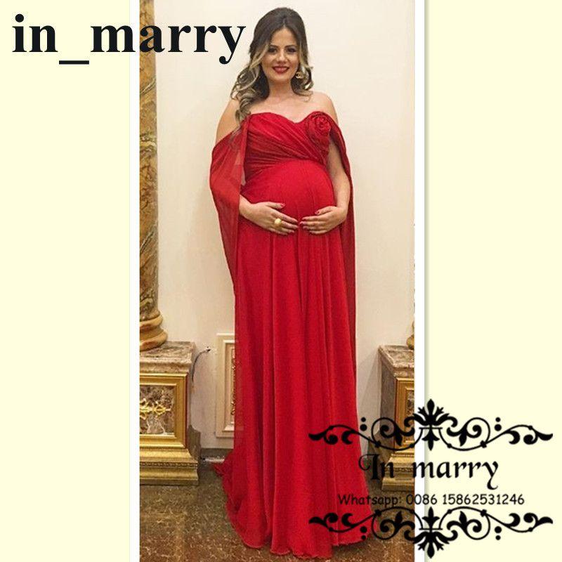 Elegant Red Formal Dress