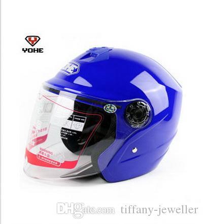 2016 novo verão yohe eterno metade face capacete de moto capacete elétrico capacetes de moto de bicicleta feitos de ABS YH-857