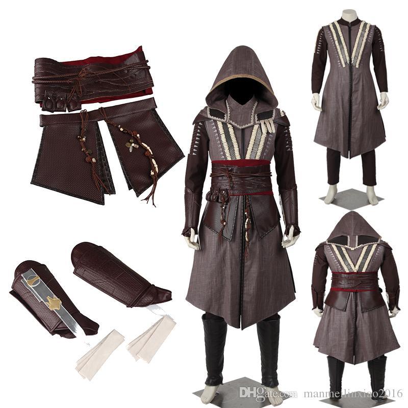 New Custom Made Assassins Creed Movie Aguilar De Nerha Cosplay