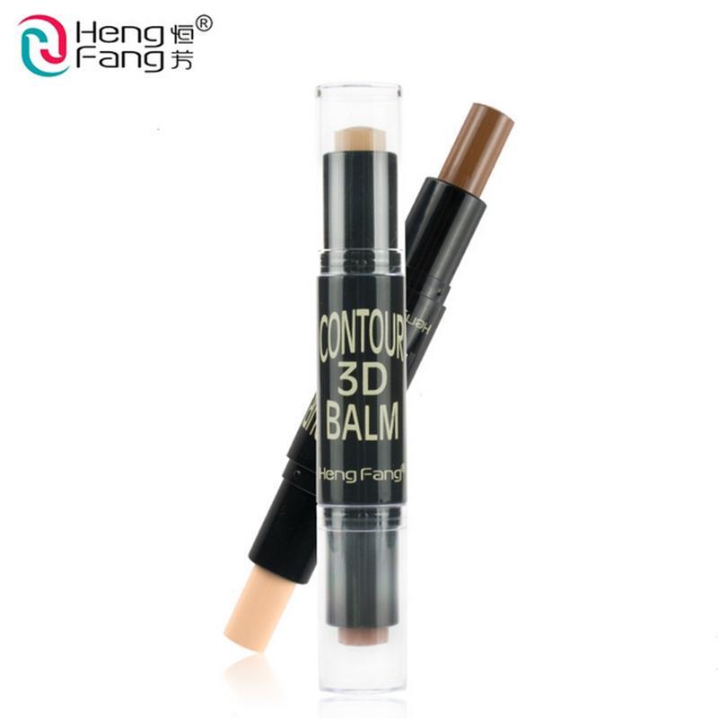 Wholesale- Maquiagem Bronzer 3D Make up Highlight Contour Cream Stick Contouring Foundation Face Concealer Pen Full Cover Blemish