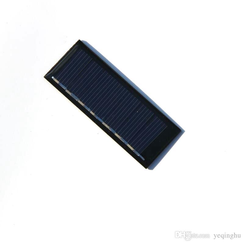 뜨거운 판매 100PCS / 많이 0.2W 3.5V 미니 태양 전지 패널 다결정 태양 전지 DIY 태양 완구 / 소형 전원 애플 리케이션 무료 배송