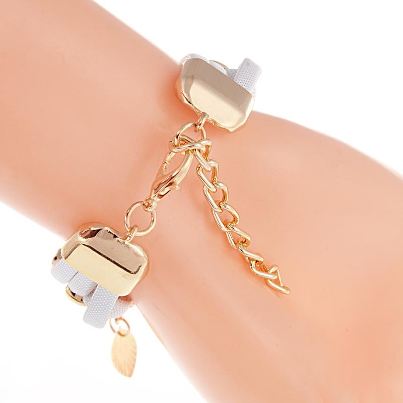 Мода Бабочка ретро браслет алмаз камень кристалл женщин свадебный кварцевый наручные часы Rhinestone 2017 бренд люкс 6 цветов женщин