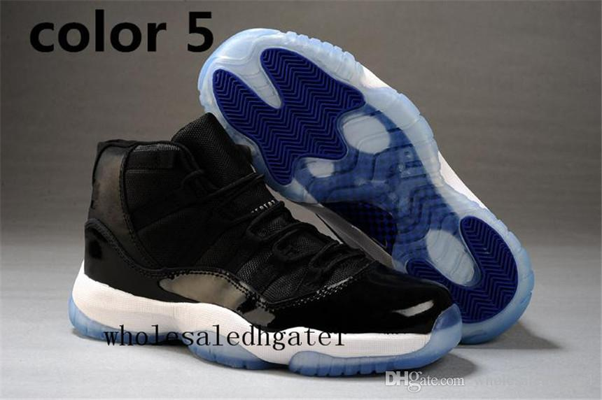 promo code 82c9c dd0b8 Number 45 23air Retro 11 Space Jam Shoes Mens Womens Retro 11s Black Retro  11 Shoes Legend Blue Cool Grey Sports Sneakers Footwear Sport Shoes From ...