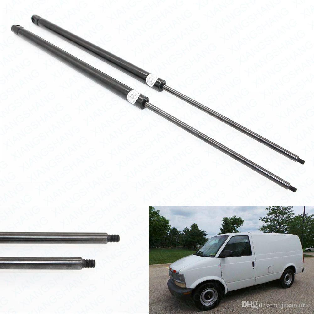 2pcs / setFits per il 1992 1993 1994 1995 1996 1997 1998-2000 GMC Safari finestra della Chevrolet Astro posteriore gas dell'elevatore Supporta Struts Ammortizzatori filettato 8 millimetri