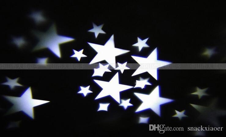 laser luce del proiettore principale della stella della lampada di notte effetti di luce del progetto per il partito di natale campione degli Stati Uniti