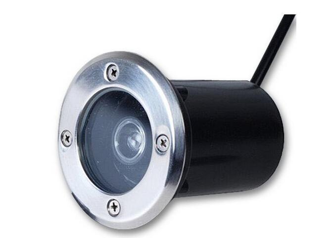 1W утопленное Подземный свет LED RGB Теплый белый Холодный белый DC 12V AC 85 ~ 265V для Открытый водонепроницаемый IP68 Пейзаж сада грУнтовые лампаду