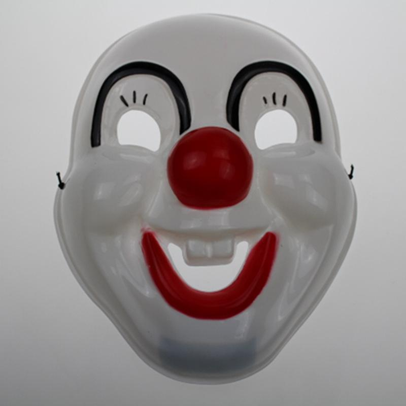 Halloween masquerade performances show props Funny funny horror grimace mask clown mask PVC environmentally friendly materials