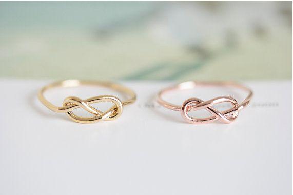 anello all'ingrosso del nodo di modo di colore 10 pce / lotto della miscela, anello circolare della navetta di personalità trasporto libero all'ingrosso