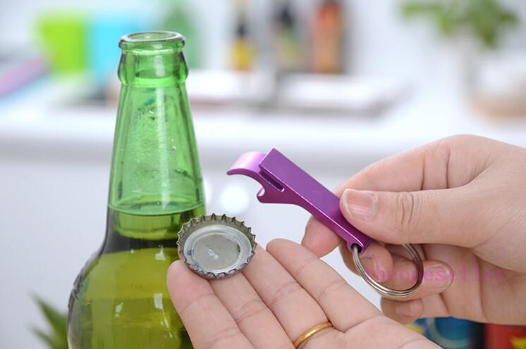2016 металлический алюминиевый сплав брелок брелок брелок кольцо с пивной бутылки открывалка персонализированные, лазерная гравировка бесплатно