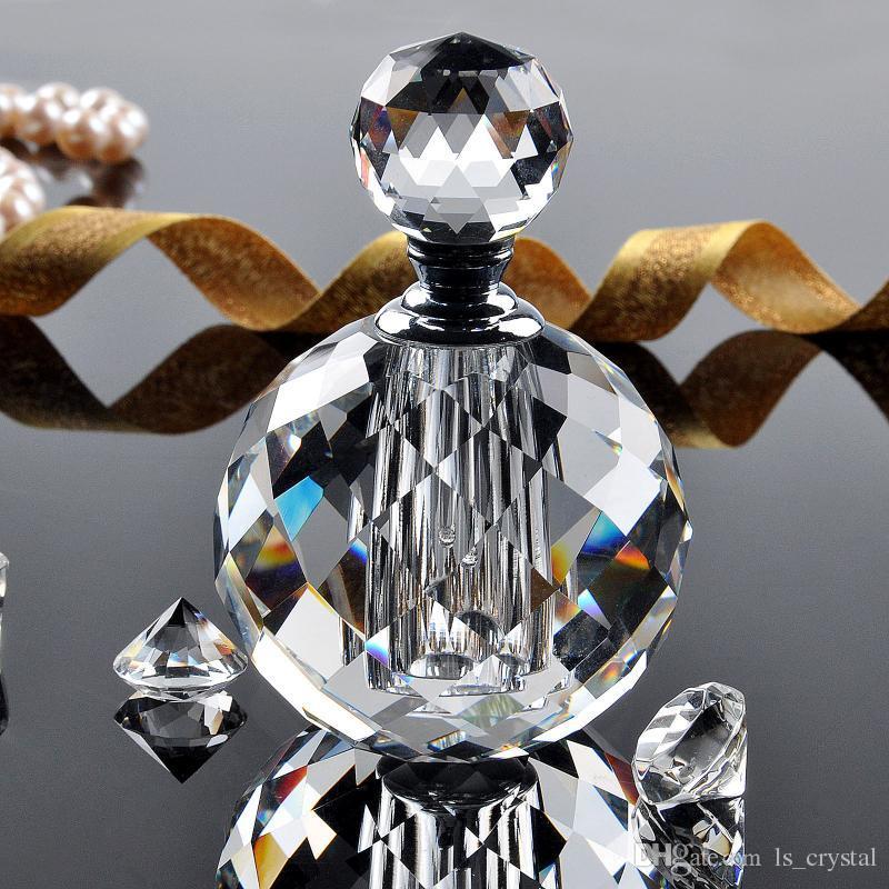 واضح 10 ملليلتر زجاجة العطور الزجاج الكريستال فارغة إعادة الملء رائحة زجاجة هدية مربع ل هدية الزفاف هدية المرأة صالح P011