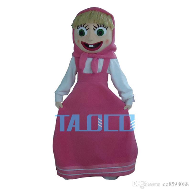 New Martha girl Mascot Costume Dress Mascot Fancy Adult Size