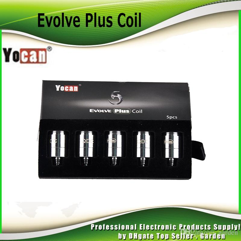 Original Yocan Evolve Plus Evolve-D NYX Pandon Ersatzspulen Kopf QDC Quatz Dual Keramik Donut Pure Coil Wachs Kit 100% Echt