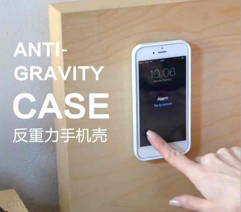 Anti Gravity Nano Technology TPU Selfie Back Stick Grip Magic Phone Case Covers for Apple iphone 6 6s plus