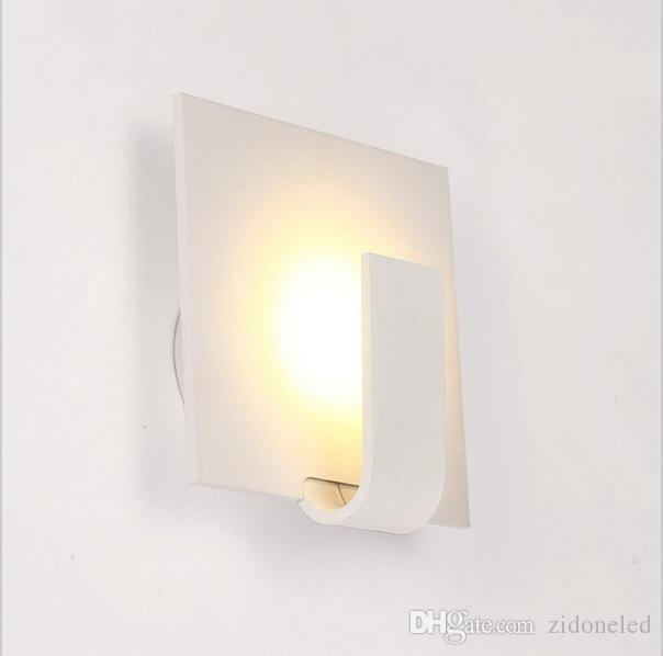modern wall sconces 3w led wall lights bedside dining living room lamps for home indoor lighting fixture