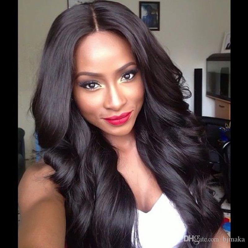 8A Volle Spitze Echthaar Perücken 180 Dichte Glueless Volle Spitzeperücken Für Schwarze Frauen Brasilianisches Haar Lace Front Perücken