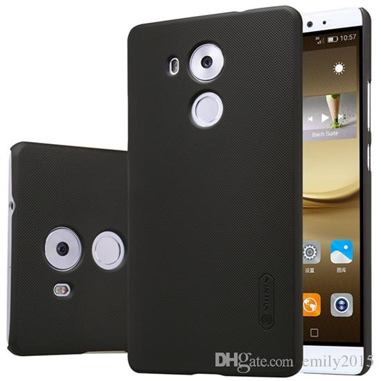 wholesale High Quality Matte Case Cover For HUAWEI Ascend Mate 8 NILLKIN Super Frosted Shield For HUAWEI With Retail Package Free Film