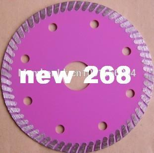 "6 PCS/lot 115mm ultra thin 1.2mm thick cutting disc ,ceramic tile cutting ,diameter 4.5"" thin diamond saw blade bore 22.3mm, segment 7mm"
