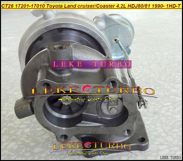 Wholesale CT26 17201-17010 Toyota Landcruiser TD Coaster 4.2LD HDJ80 HDJ81 1990-2001 160HP 1HDT 1HD-FT turbocharger (3)