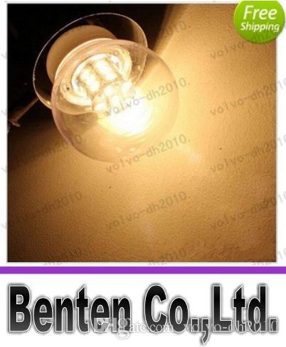 Più nuovo E27 5730SMD 27LED 7W LED lampade a LED 12V freddo bianco caldo lampadina bianca LED luci LLFA227