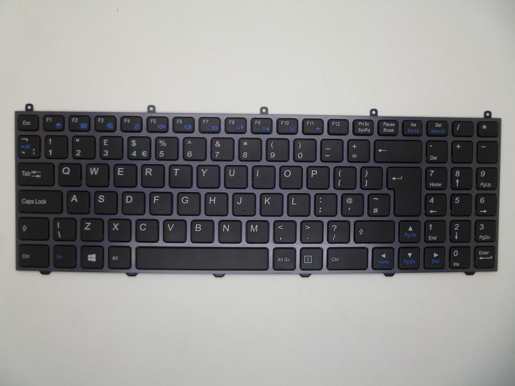 FOR Clevo 6-80-W65S0-010-1 MP-12N73US-4305 Keyboard US No Frame